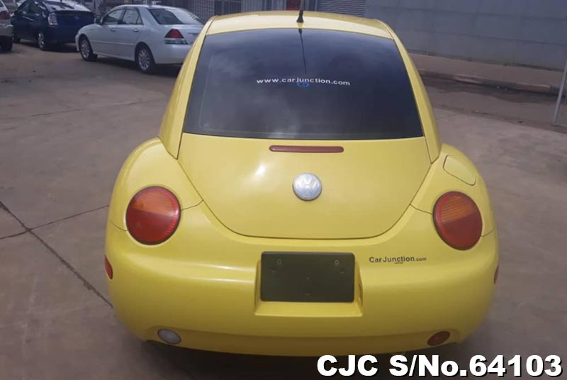 Volkswagen Beetle in Yellow for Sale Image 6