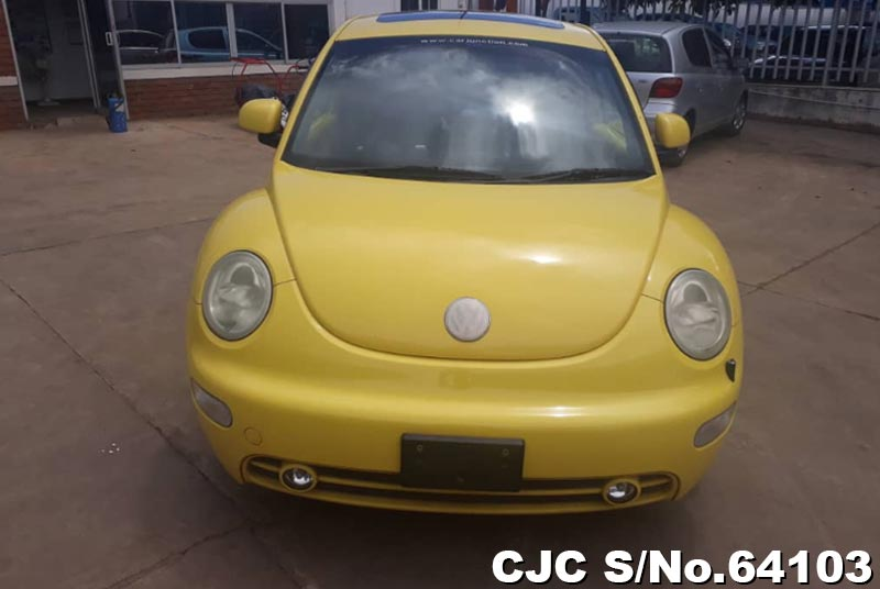 Volkswagen Beetle in Yellow for Sale Image 7