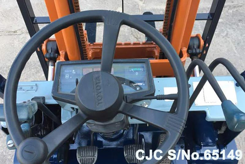 Toyota A5FG15 Forklift for Sale Image 5