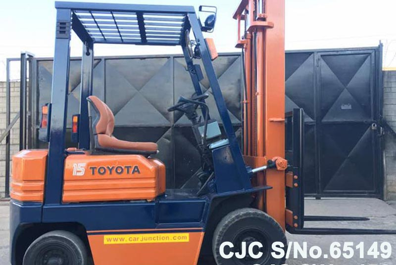 Toyota A5FG15 Forklift for Sale Image 2