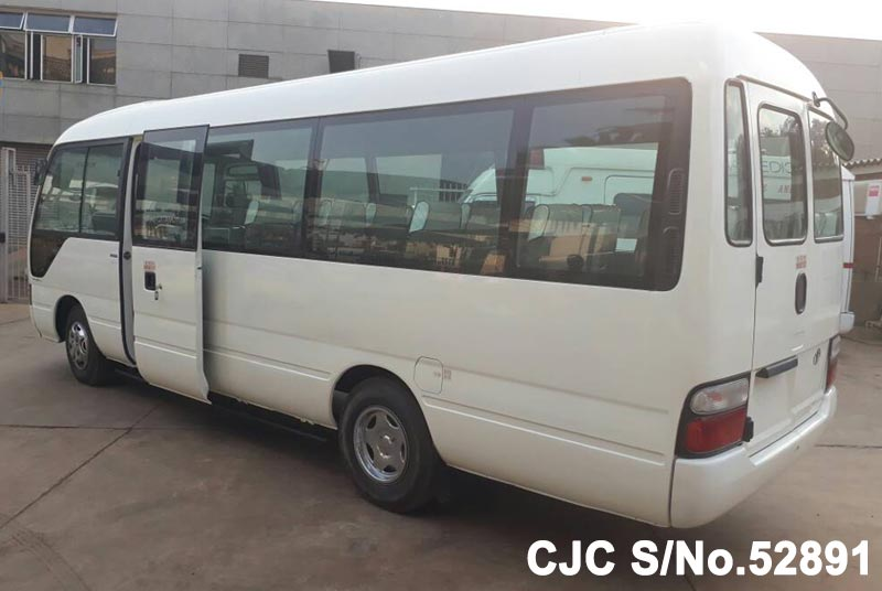 Toyota Coaster in White for Sale Image 1