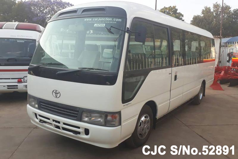 Toyota Coaster in White for Sale Image 3