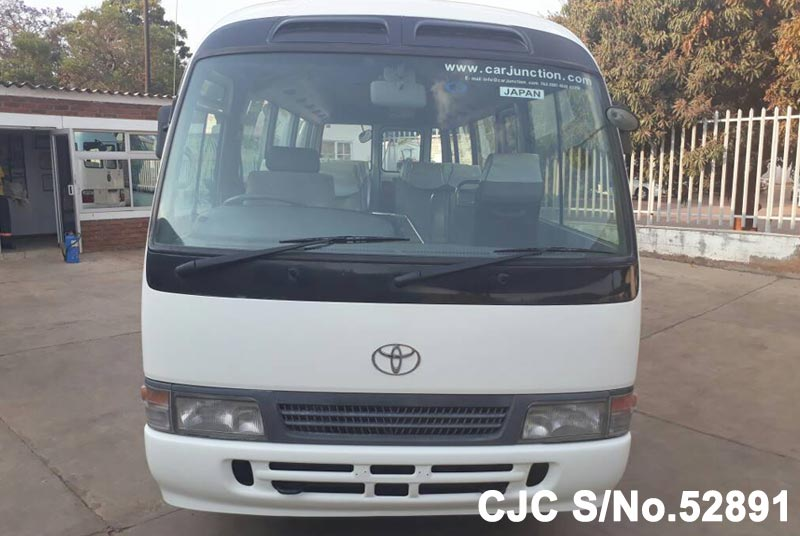 Toyota Coaster in White for Sale Image 4