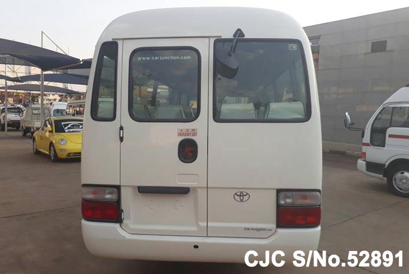 Toyota Coaster in White for Sale Image 5
