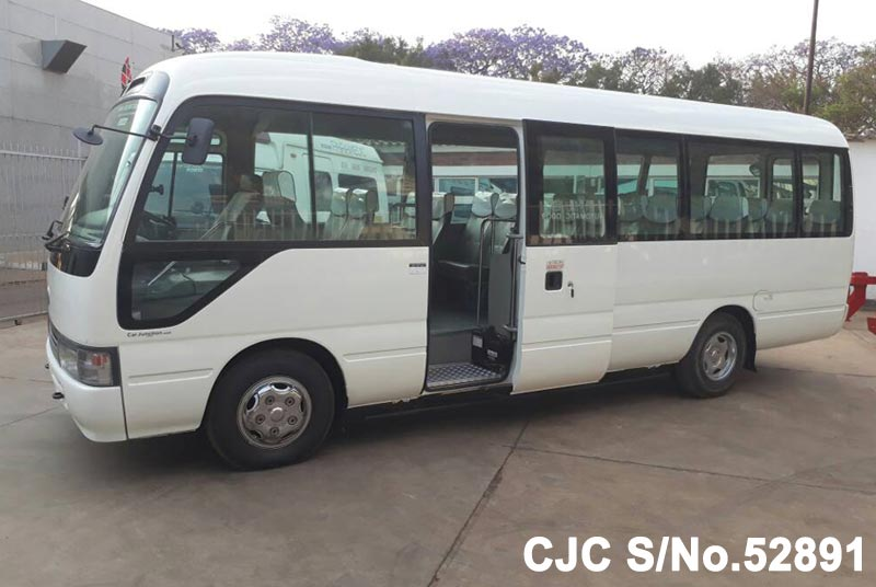 Toyota Coaster in White for Sale Image 8