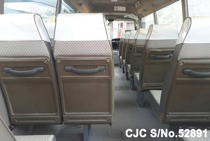 Toyota Coaster in White for Sale Image 11