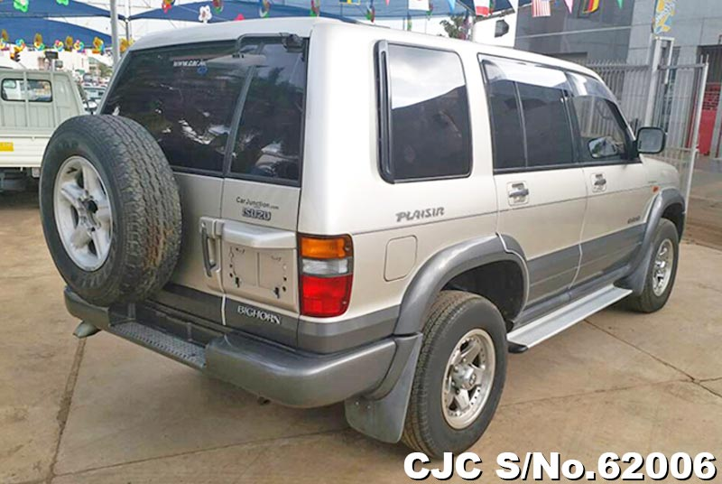 Isuzu Bighorn in Champagne for Sale Image 2