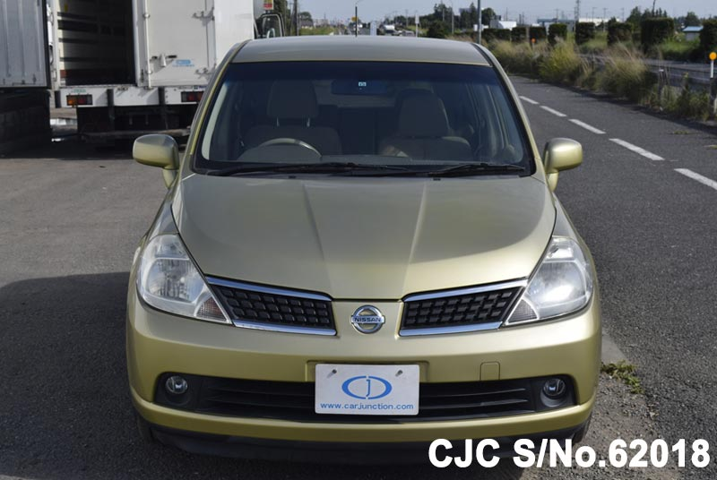 Nissan Tiida in Yellow for Sale Image 4
