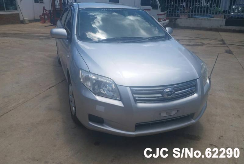 Toyota Corolla Axio in Silver for Sale Image 4