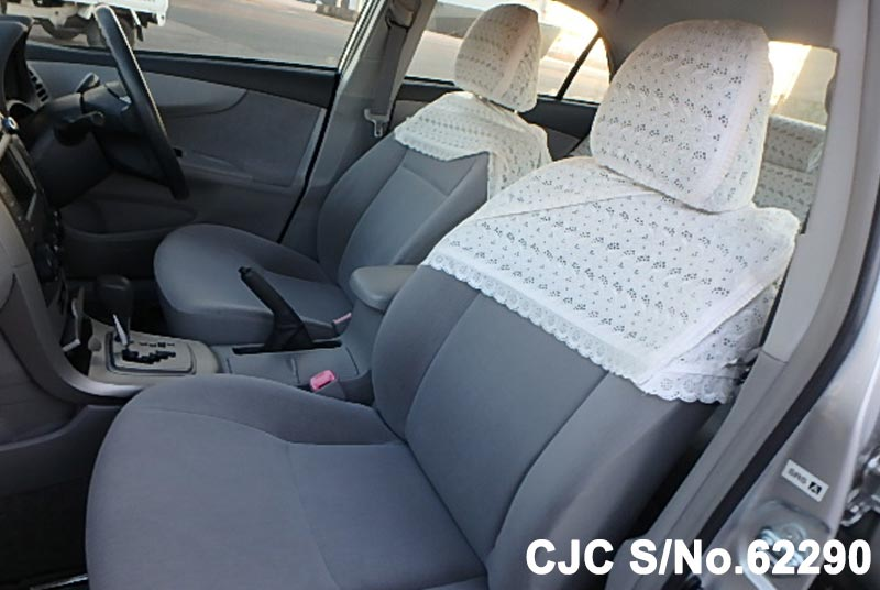 Toyota Corolla Axio in Silver for Sale Image 10