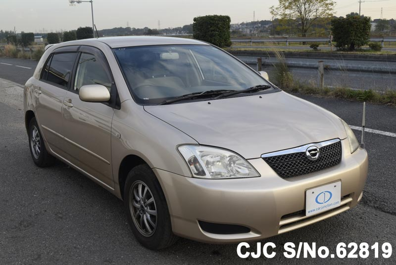 Toyota Corolla Runx in Beige for Sale