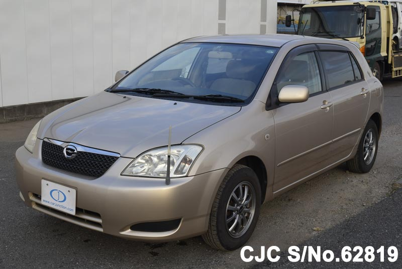Toyota Corolla Runx in Beige for Sale Image 2