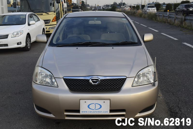 Toyota Corolla Runx in Beige for Sale Image 3
