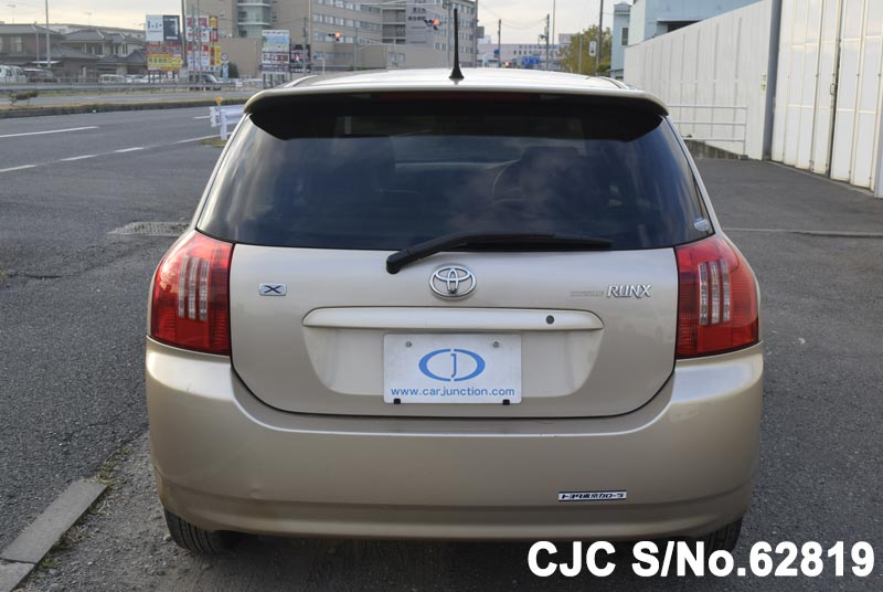 Toyota Corolla Runx in Beige for Sale Image 4