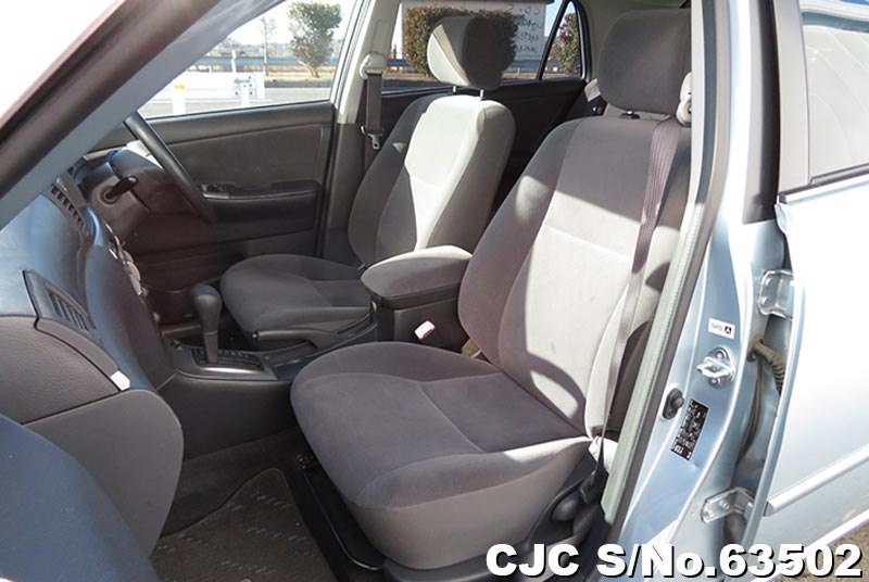 Toyota Allex in Light Blue for Sale Image 10