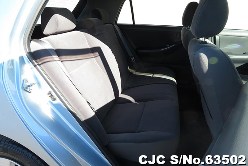 Toyota Allex in Light Blue for Sale Image 12