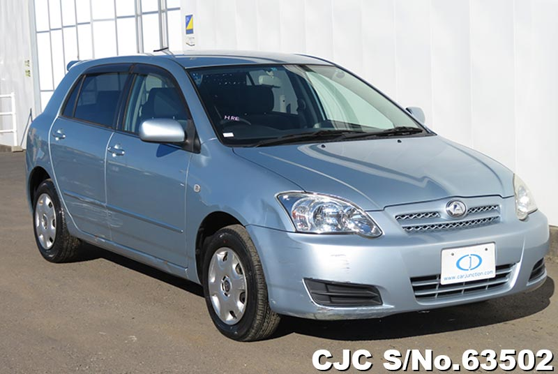 Toyota Allex in Light Blue for Sale