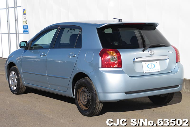 Toyota Allex in Light Blue for Sale Image 1