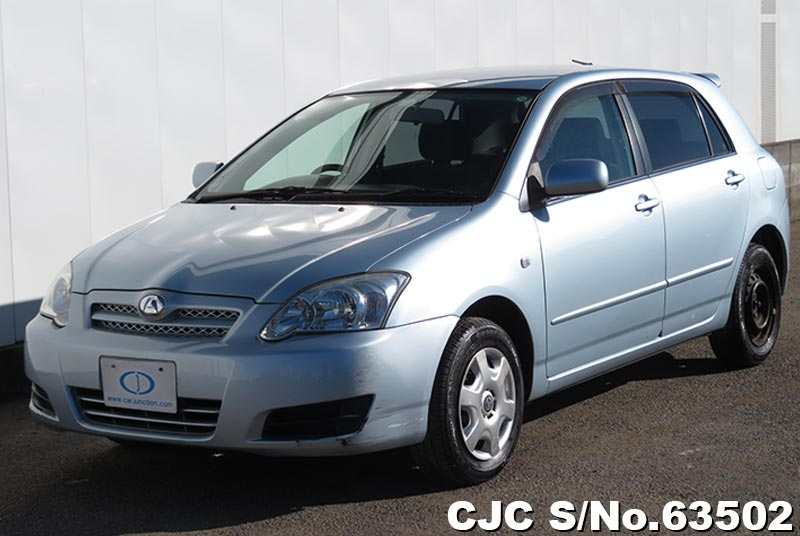 Toyota Allex in Light Blue for Sale Image 3