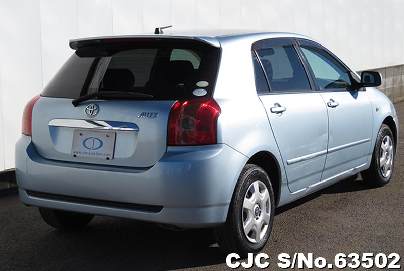 Toyota Allex in Light Blue for Sale Image 2