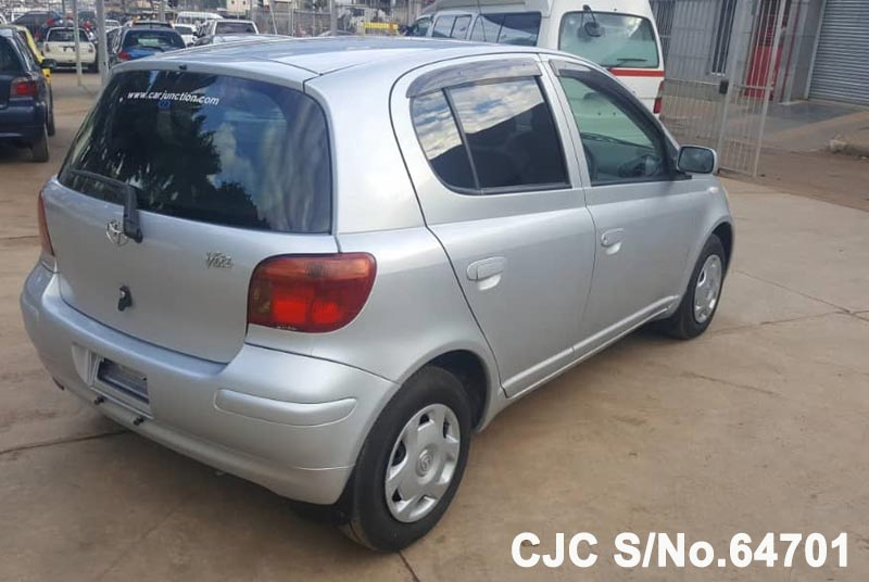 Toyota Vitz - Yaris in Silver for Sale Image 2