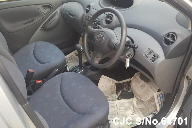 Toyota Vitz - Yaris in Silver for Sale Image 9