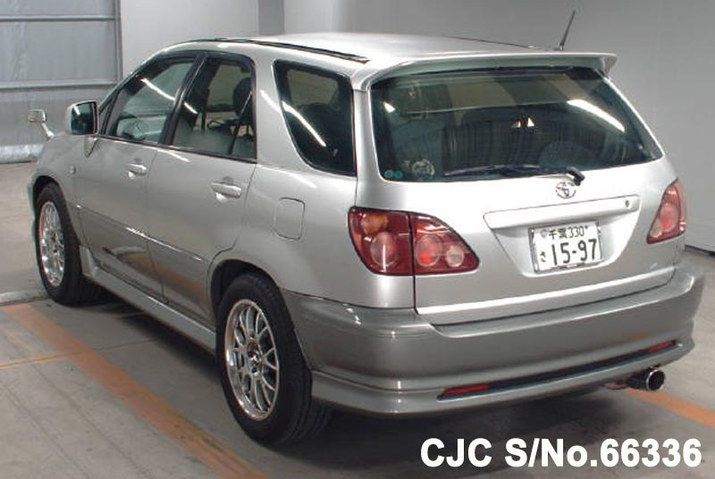 Toyota Harrier in Silver for Sale Image 1