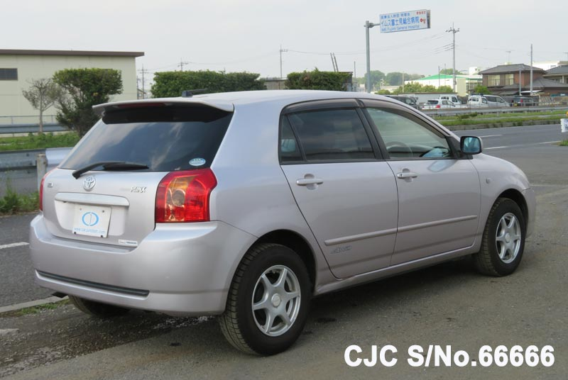 Toyota Corolla Runx in Pink for Sale Image 2