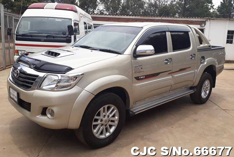 Toyota Hilux in Beige for Sale Image 3