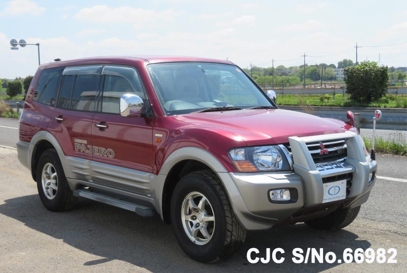 Mitsubishi Pajero in Red 2 Tone for Sale