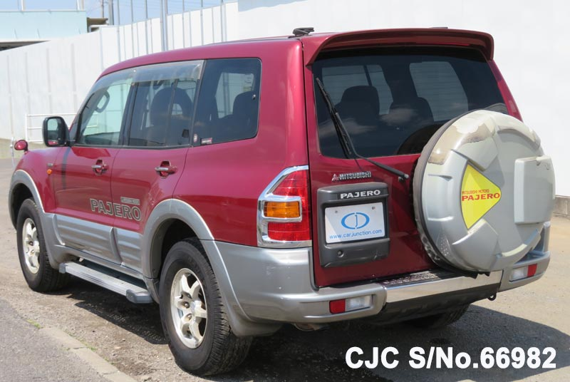 Mitsubishi Pajero in Red 2 Tone for Sale Image 1