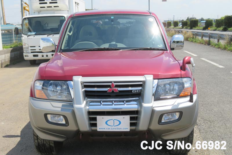Mitsubishi Pajero in Red 2 Tone for Sale Image 4
