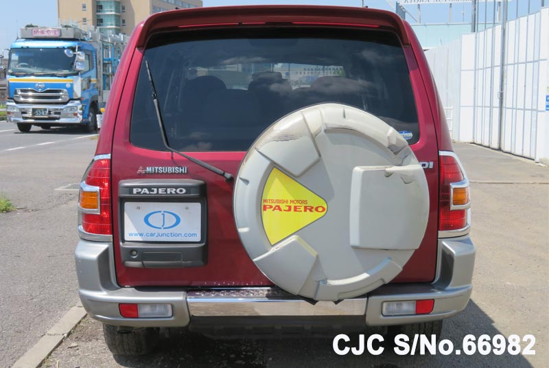 Mitsubishi Pajero in Red 2 Tone for Sale Image 5