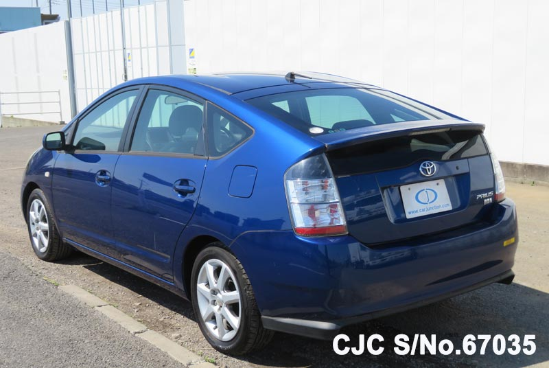 Toyota Prius Hybrid in Blue for Sale Image 1