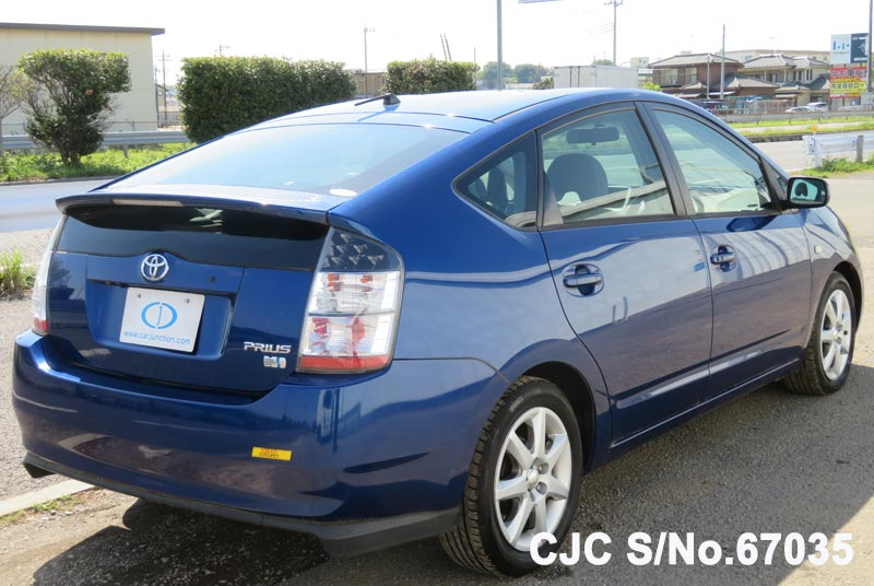 Toyota Prius Hybrid in Blue for Sale Image 2