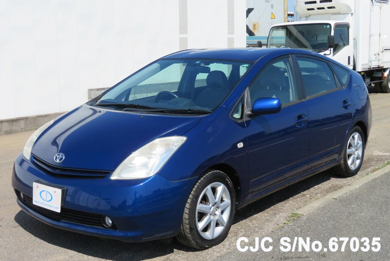 Toyota Prius Hybrid in Blue for Sale Image 3