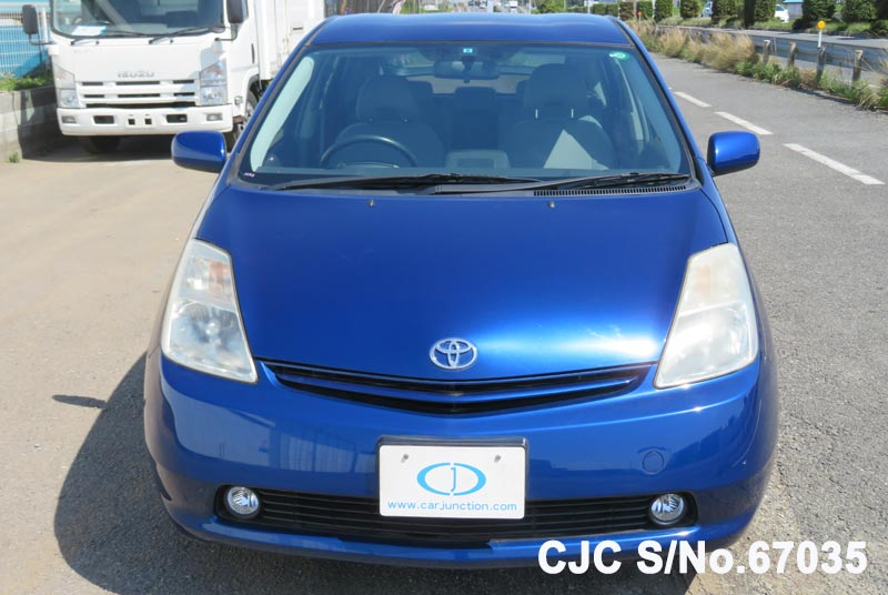 Toyota Prius Hybrid in Blue for Sale Image 4
