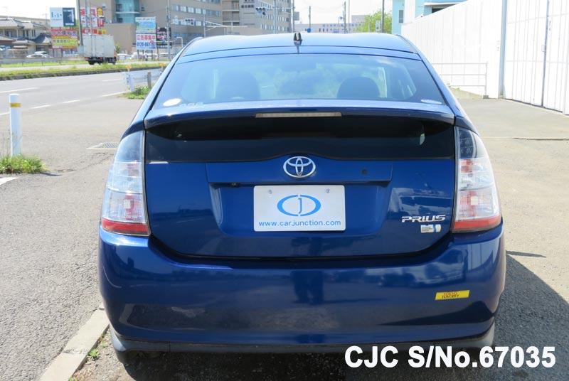 Toyota Prius Hybrid in Blue for Sale Image 5