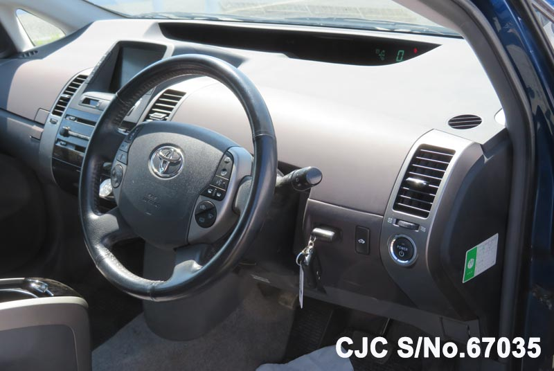 Toyota Prius Hybrid in Blue for Sale Image 11