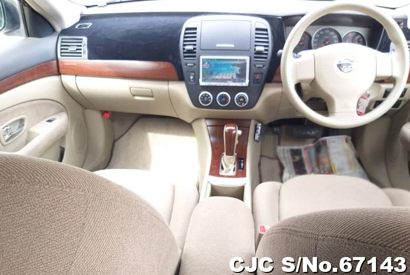 Nissan Bluebird Sylphy in White for Sale Image 9