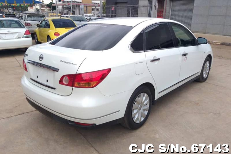 Nissan Bluebird Sylphy in White for Sale Image 1