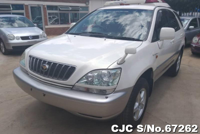 Toyota Harrier in Pearl White for Sale Image 3