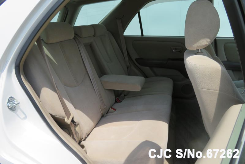 Toyota Harrier in Pearl White for Sale Image 11