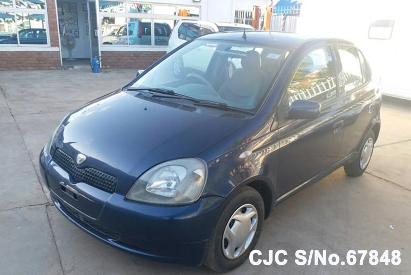Toyota Vitz - Yaris in Blue for Sale Image 3