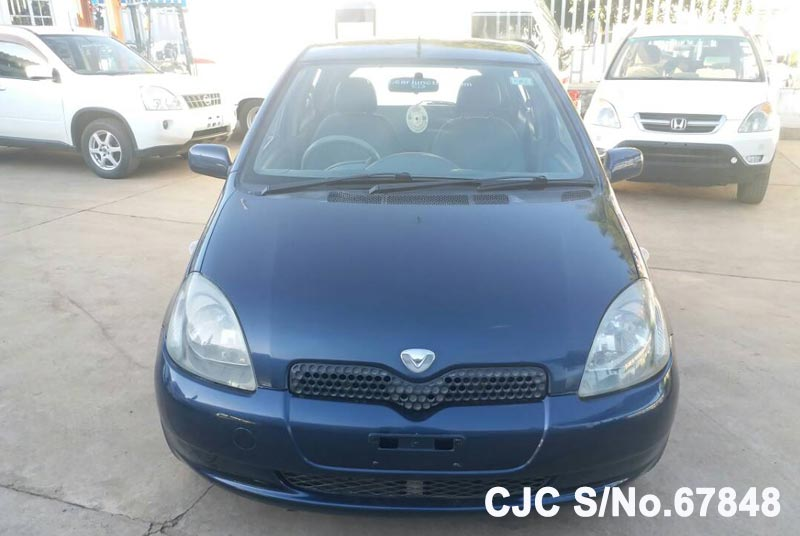 Toyota Vitz - Yaris in Blue for Sale Image 4