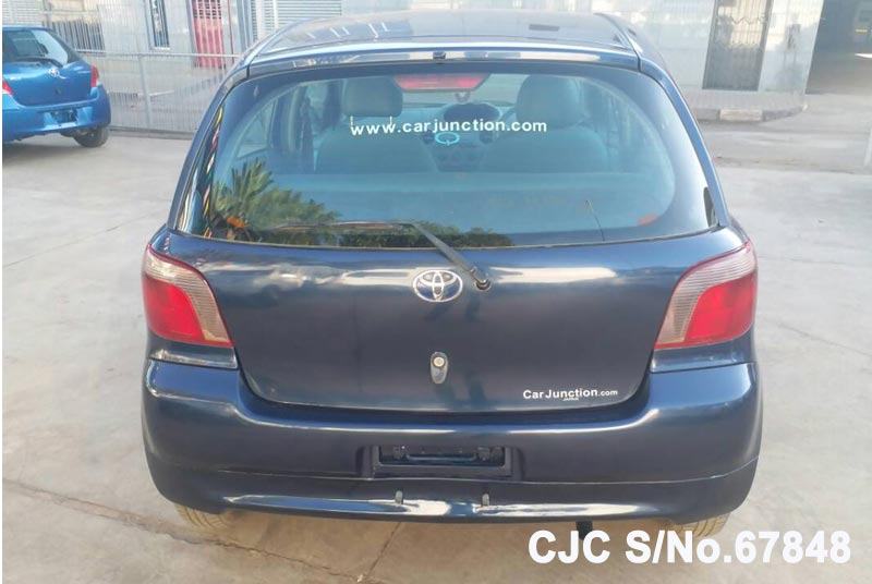 Toyota Vitz - Yaris in Blue for Sale Image 5