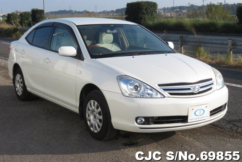Toyota Allion in White for Sale