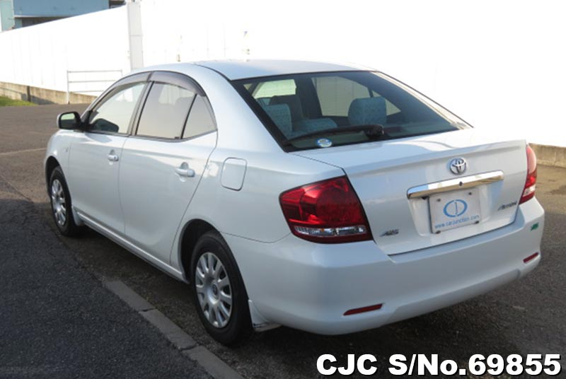 Toyota Allion in White for Sale Image 2