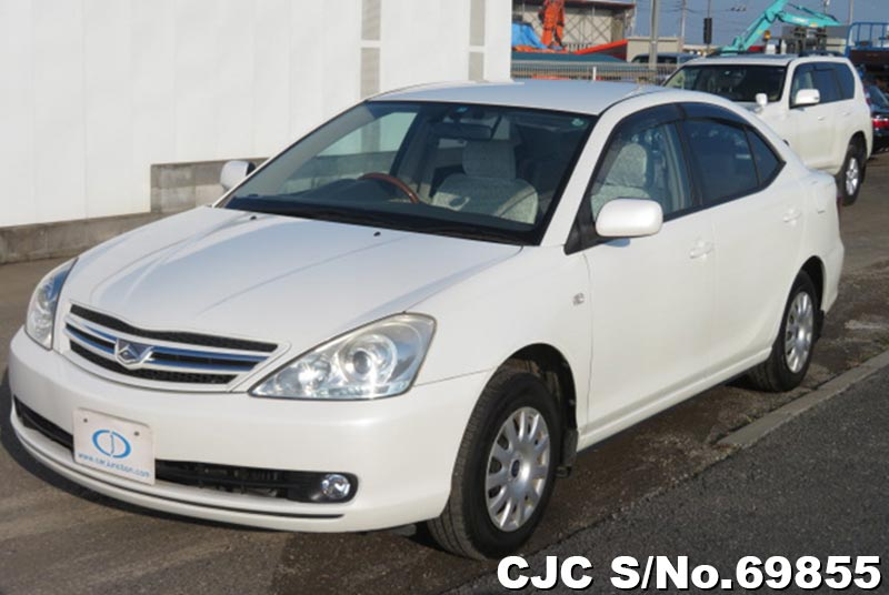 Toyota Allion in White for Sale Image 3