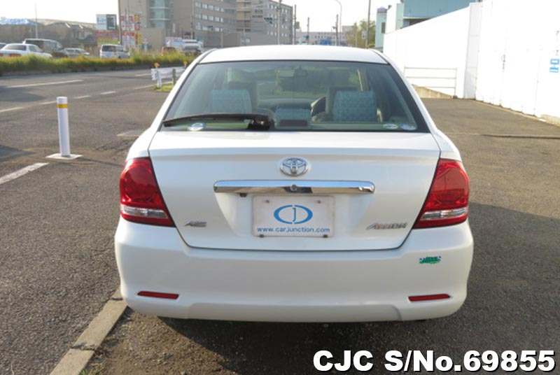 Toyota Allion in White for Sale Image 4